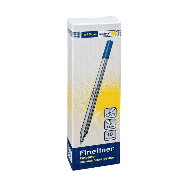 Ручка капилярная 0,5 мм синяя  4005081